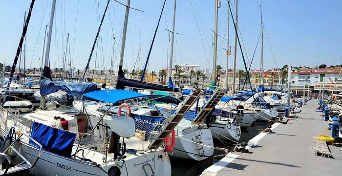 La Consejería de Fomento duplica en un año la inversión en Puertos de Andalucía