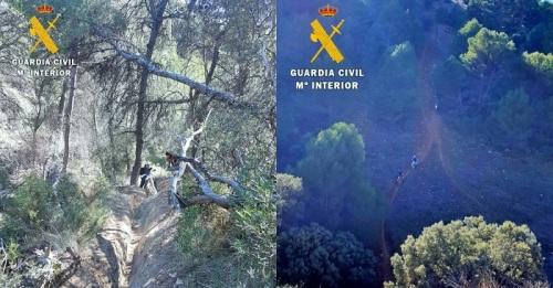 La Guardia Civil denuncia a los organizadores de una ruta motera 'offroad' no autorizada