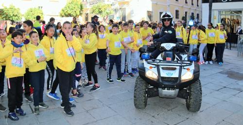 La IV Carrera Solidaria del Colegio La Santa Cruz de Almuñécar ha estado dedicada este año a AFAVIDA