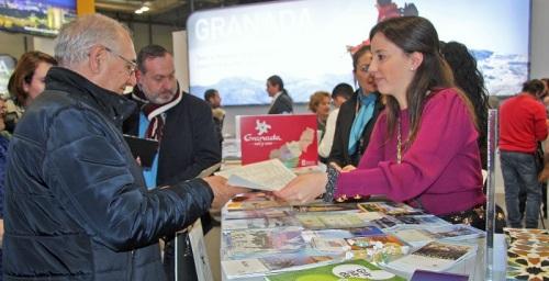 La marca turística 'Granada' consigue más de 56.000 impactos con su stand en Fitur 2020