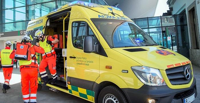 Los granadinos valoran con un 9,2 sobre diez el servicio recibido por los equipos de emergencias sanitarias 061