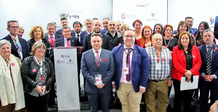 Los productos de Sabor Granada, protagonistas del Día de la Provincia en Fitur 2020