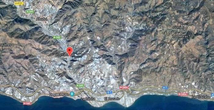 Un motorista ha fallecido tras un accidente de tráfico registrado en la A-345 en Albuñol.jpg