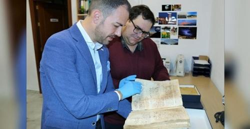 Almuñécar restaurará 13 documentos del archivo municipal de entre los siglos XV y XVII