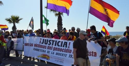 Alrededor de 400 personas recuerdan en Salobreña a las víctimas de la 'carretera de la muerte' de 1937