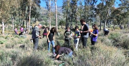 Órgiva celebra una jornada de reforestación con la plantación de más de medio millar de árboles