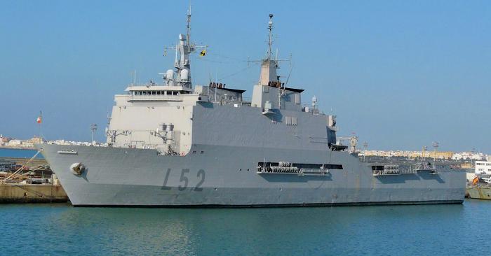 Castilla, buque de asalto anfibio de la Armada Española
