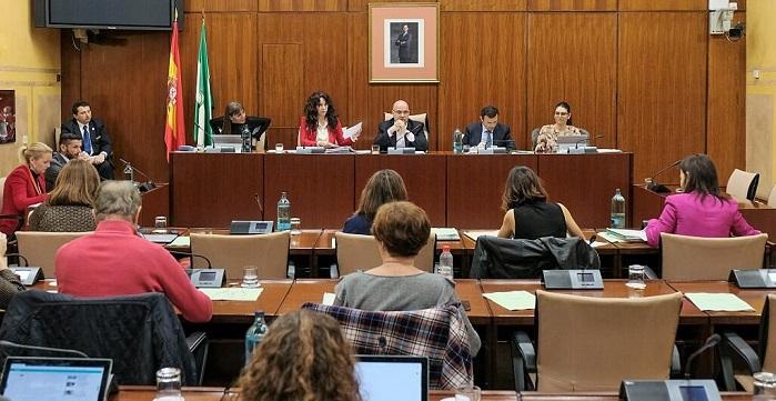 Comisión Igualdad Parlamento de Andalucía