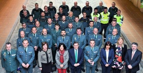 Diputación reconoce los 175 años de historia de la Guardia Civil al servicio de la provincia