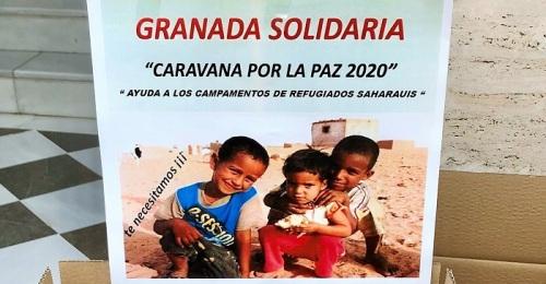 El Ayto. de Motril entrega a la Asociación Granadina de Amistad con el Sáhara la recaudación de la paella popular