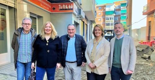 El Ayto. de Motril y la Mancomunidad dan inicio a las obras que darán una nueva imagen a la calle Panamá