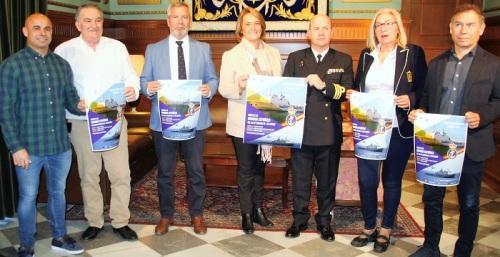 El buque de asalto anfibio 'Castilla' recalará en el puerto de Motril para abrir sus puertas al público