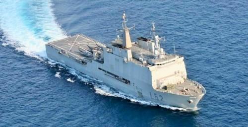 El Castilla, Armada Española