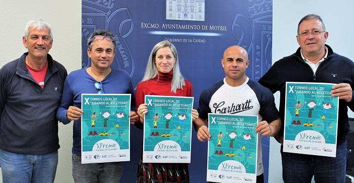 El deporte motrileño se apunta un nuevo tanto con el X Torneo Local 'Jugando al Atletismo'