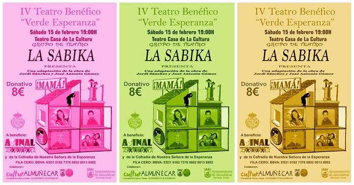 El grupo de teatro La Sabika presentará en Almuñécar la obra de teatro Mamá