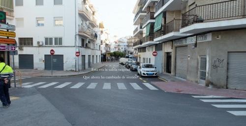 El PP critica la remodelación de tráfico en la zona baja de Salobreña