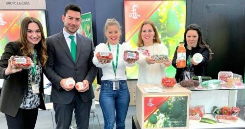 Grupo La Caña clausura su presencia en Fruit Logística con un balance muy positivo