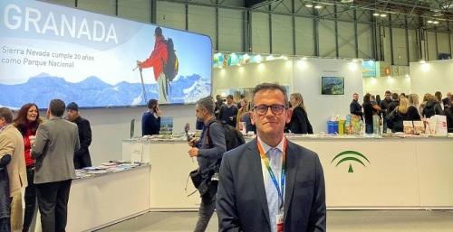 Gustavo Rodríguez, delegado territorial de Turismo de la Junta en Granada