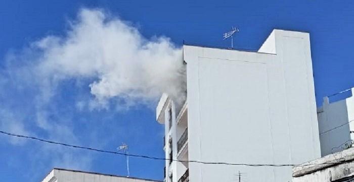 Incendio vivienda La Herradura