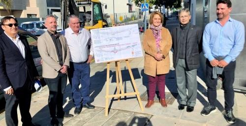 Iniciadas las obras de mejora de la entrada principal a la ciudad por la avenida de Europa