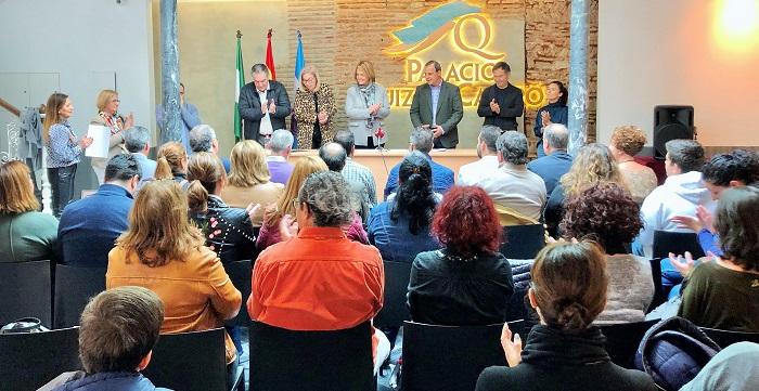La alcaldesa preside el acto de toma de posesión de ocho trabajadores del Ayuntamiento de Motril