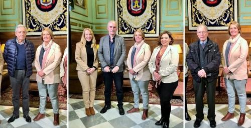 La alcaldesa recibe a las personas y entidades distinguidas con los títulos honoríficos de la ciudad de Motril