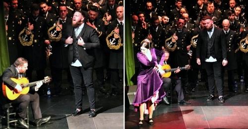 La Cofradía del Nazareno de Almuñécar celebró un gran espectáculo bajo el nombre de 'Romance Cofrade'