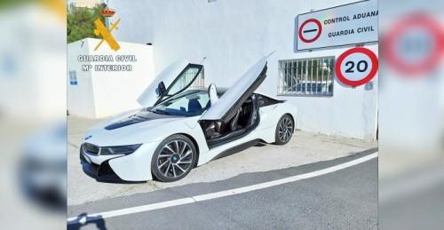 La Guardia Civil descubre en el puerto de Motril un coche robado que iba a ser embarcado hacia Marruecos