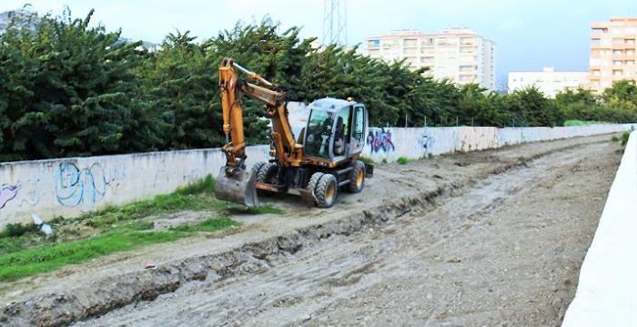 La Junta acomete en Almuñécar la limpieza y mejora de los cauces de los ríos Verde y Seco