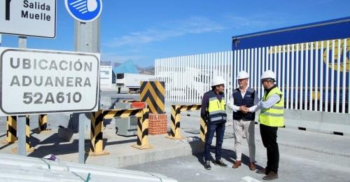La obra civil del Área de Depósito Temporal del Puerto de Motril, a punto de finalizar
