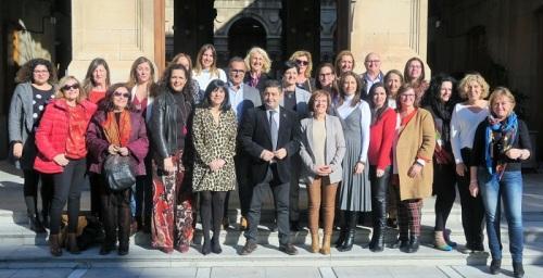Las diputaciones andaluzas coordinan sus propuestas para el Día Internacional de la Mujer