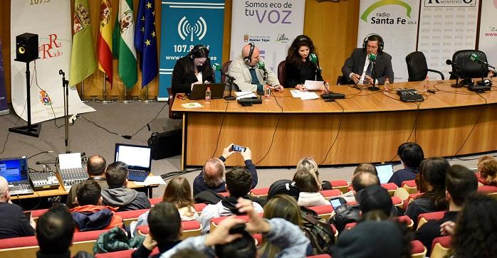 Las emisoras municipales de Andalucía celebran el Día Mundial de la Radio desde la Diputación de Granada