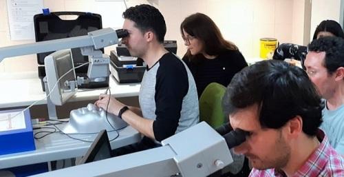Los hospitales de Granada forman a residentes de Oftalmología en técnicas de simulación