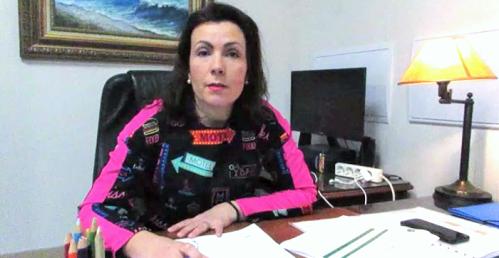 Luisa Díaz, concejala de Convergencia Andaluza (CA) en Almuñécar