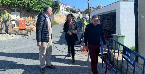 Mejora de la iluminación de la calle Camino al Barranco de Almuñécar