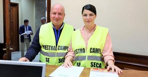 Olona insta al Gobierno a que incluya la ruta entre Motril y Melilla en las líneas marítimas de interés general del Estado