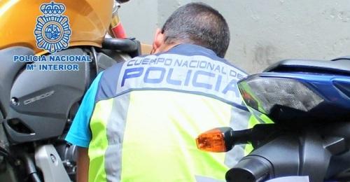 Policía Nacional motos