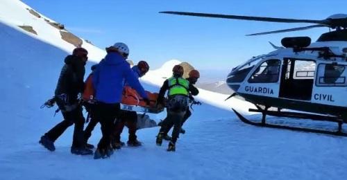 Rescate Helicóptero Sierra Nevada Guardia Civil
