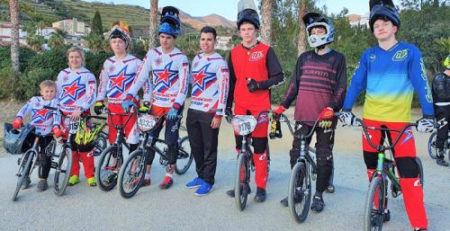 Un equipo BMX ruso de San Petersburgo se concentra estos días en Almuñécar