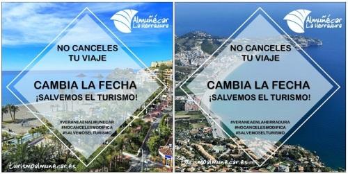 Almuñécar lanza una campaña de promoción del destino bajo el lema 'No canceles tu viaje'