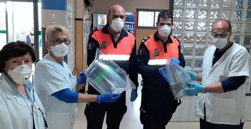 Antonio Sanz destaca el papel de los 1.500 voluntarios de Protección Civil en Andalucía frente al coronavirus