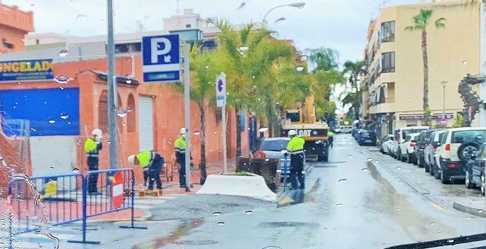 Ballado mercado municipal de Almuñécar