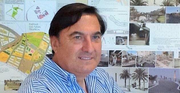 Ángel Gijón, presidente de la Cámara de Comerci de Motril