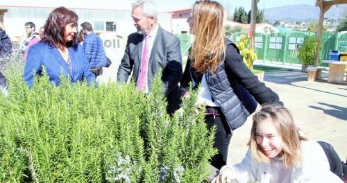 Diputación colabora con APROSMO para la instalación de un parque de columpios inclusivo