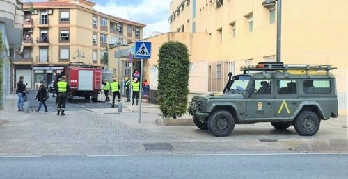 El Ayuntamiento agradece la presencia de la Unidad Militar de Emergencias para velar por la salud de los motrileños