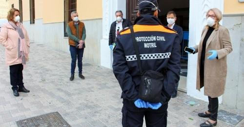 El Ayuntamiento felicita a Protección Civil de Motril por su implicación y esfuerzo durante la crisis sanitaria