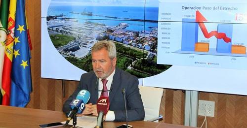 El presidente del Puerto de Motril hace balance de su primer año de gestión y proyecta las actuaciones futuras