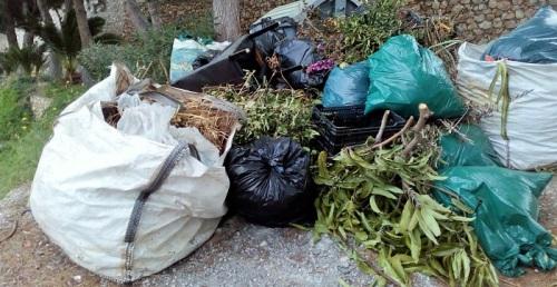 Está prohibida la quema de residuos vegetales en zonas urbanas y urbanizables en Salobreña