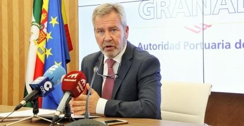 José García Fuentes, presidente de la Autoridad Portuaria de Motril