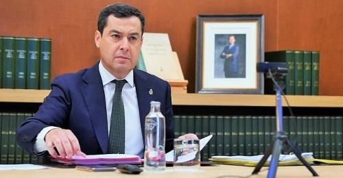 Juanma Moreno, presidente de la Junta